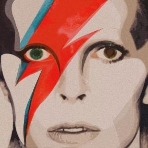 David Bowie - Técnica Collage