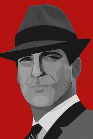 Don Draper - Illustrator + Photoshop