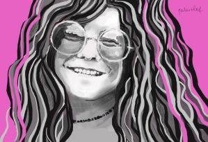 Janis Joplin - Sketchbook