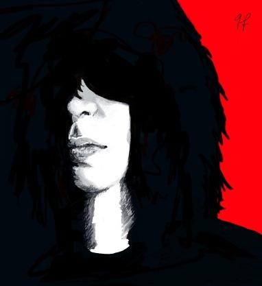 Joey Ramone - Sketchbook