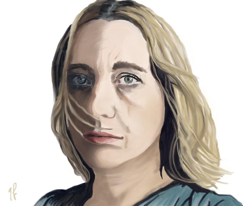 Virginie Despentes - Sketchbook